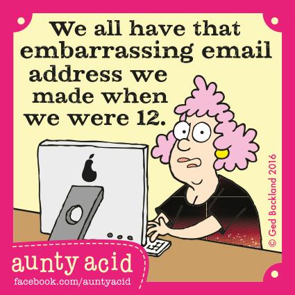 Aunty Acid Comic Strip for June 13, 2016