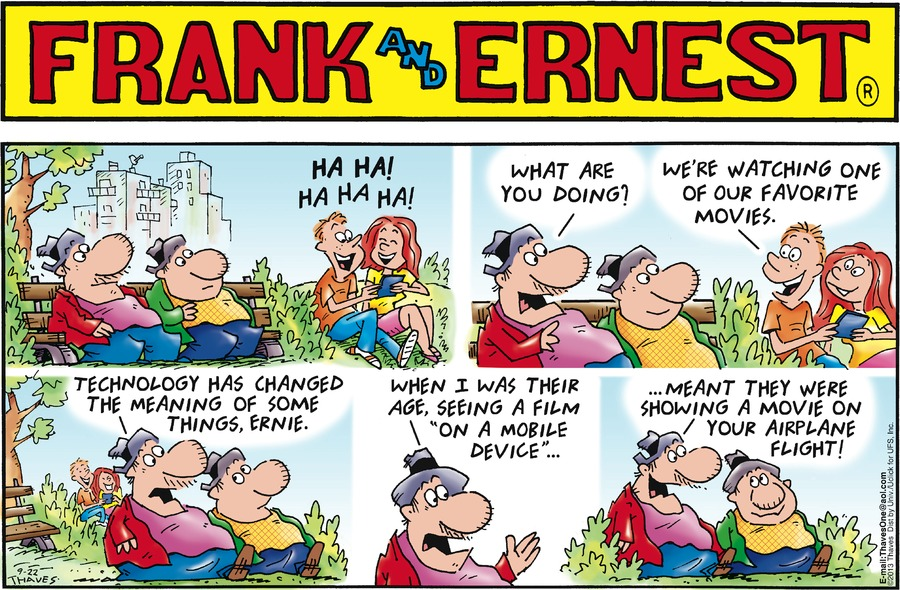 Frank and Ernest Comic Strip for September 22, 2013