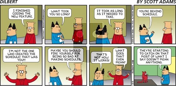 Dilbert on Sunday November 18, 2018 Comic Strip