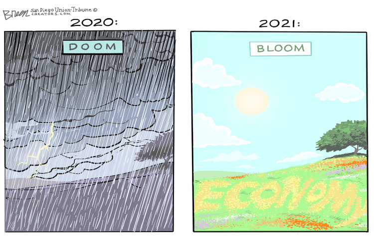 Steve Breen Comic Strip for May 02, 2021