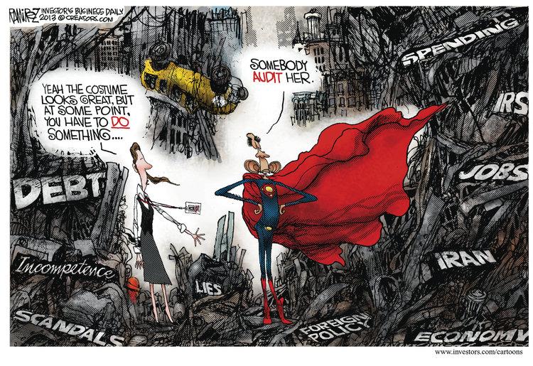 Michael Ramirez Comic Strip for June 25, 2013