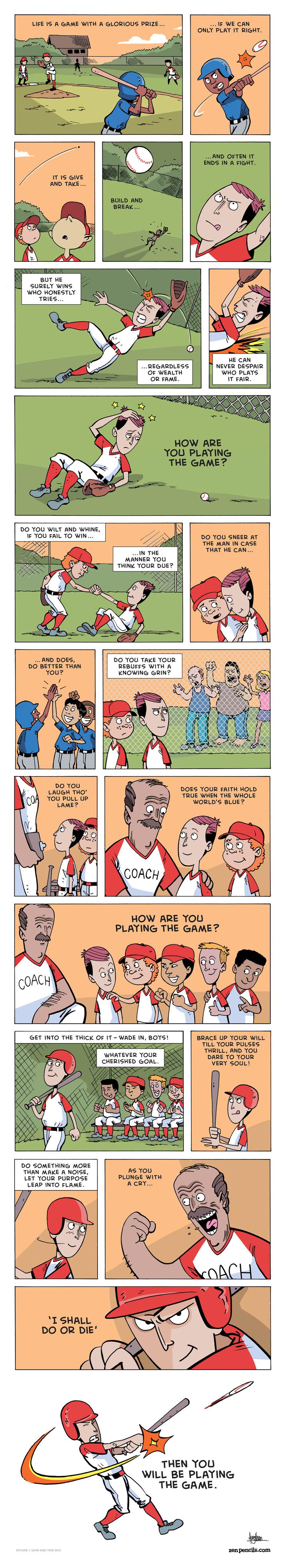 Zen Pencils Comic Strip for March 13, 2017