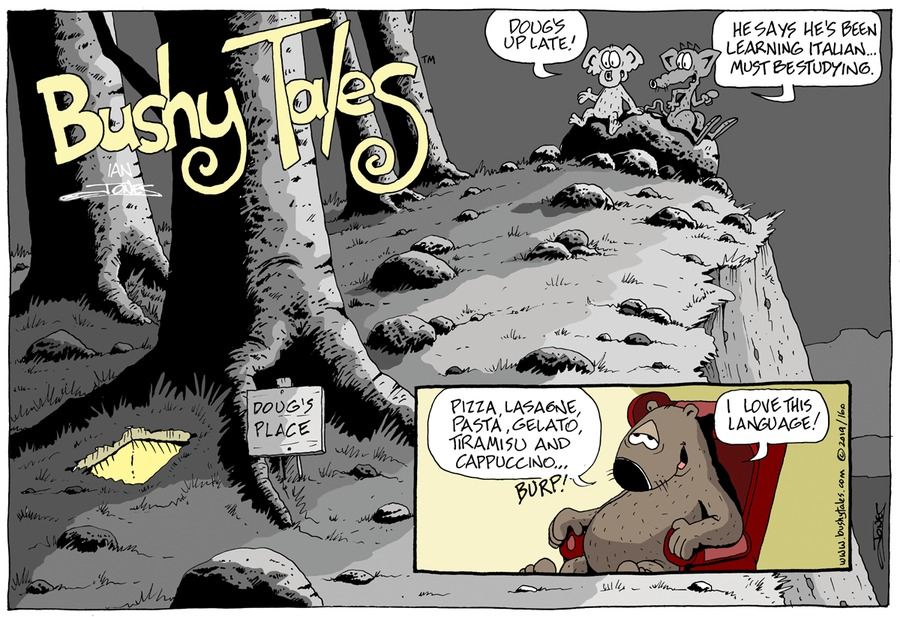 Bushy Tales Comic Strip for May 26, 2019