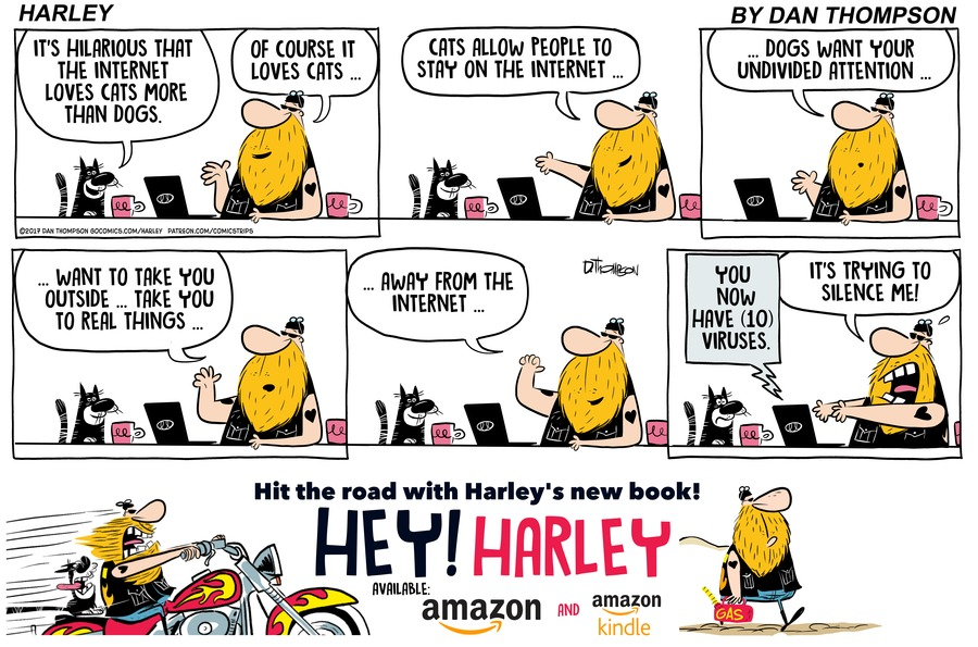 Harley by Dan Thompson for March 10, 2019