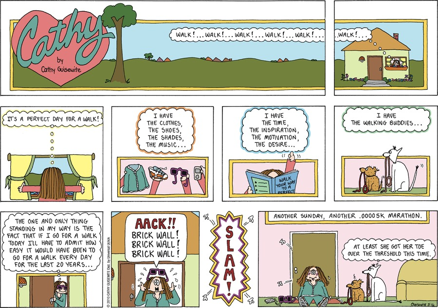 Cathy Classics Comic Strip for May 16, 2010