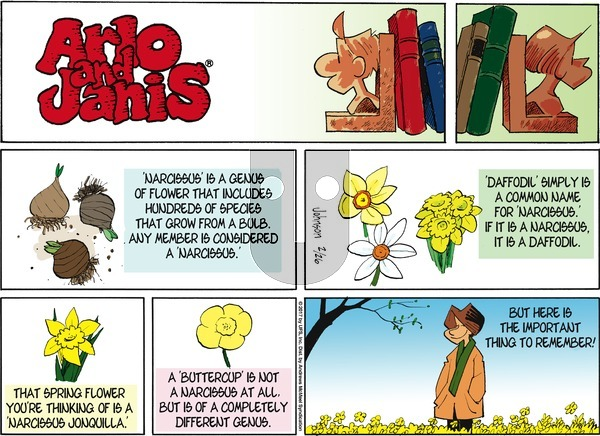 Arlo and Janis on Sunday February 26, 2017 Comic Strip