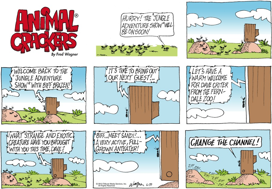 Animal Crackers for Jun 30, 2013 Comic Strip