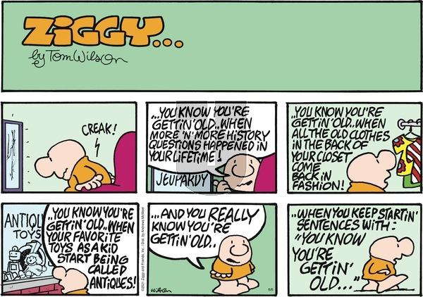 Ziggy on Sunday June 6, 2021 Comic Strip