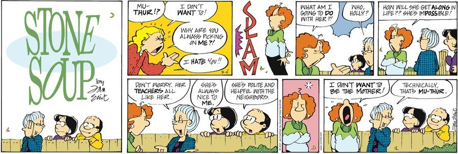 Stone Soup Classics Comic Strip for January 03, 2021