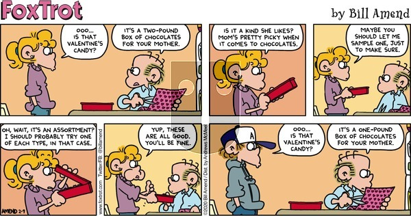 FoxTrot on Sunday February 9, 2020 Comic Strip