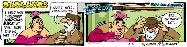 Badlands on Saturday January 11, 2020 Comic Strip