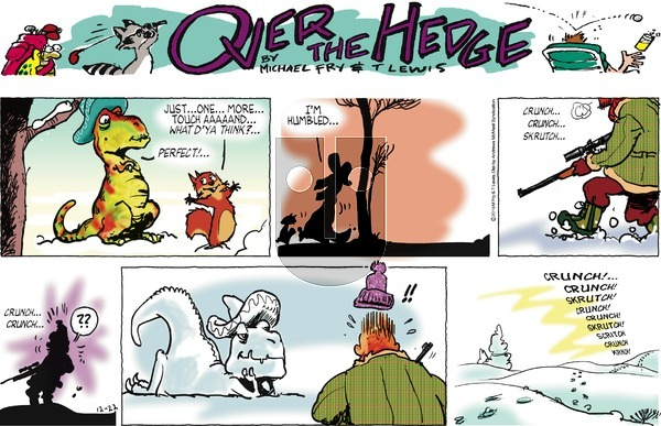 Over the Hedge - Sunday December 22, 2019 Comic Strip