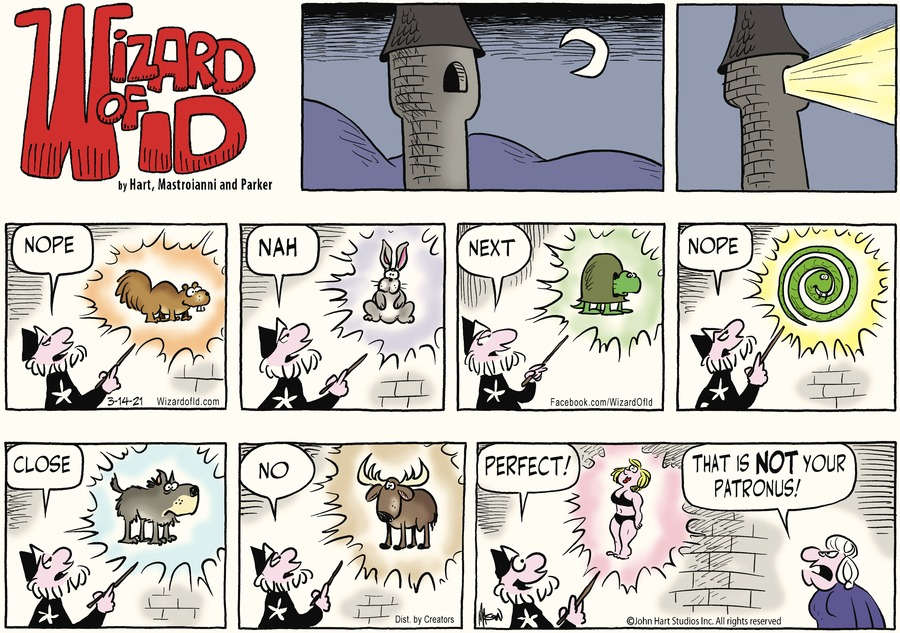 Wizard of Id Comic Strip for March 14, 2021