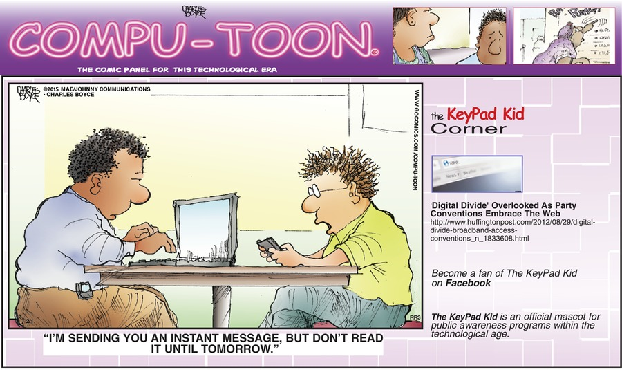 Compu-toon Comic Strip for February 01, 2015