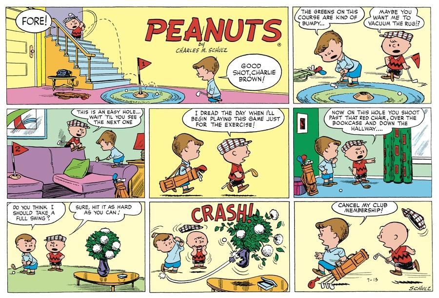 Peanuts Begins Comic Strip for October 16, 2016