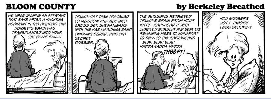 Bloom County 2019 Comic Strip for November 07, 2017