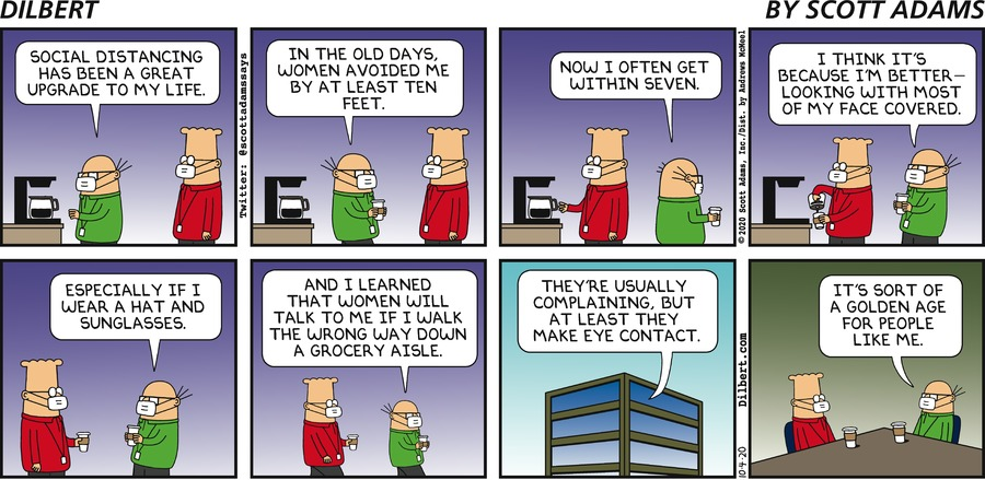 Golden Age For Wally - Dilbert by Scott Adams