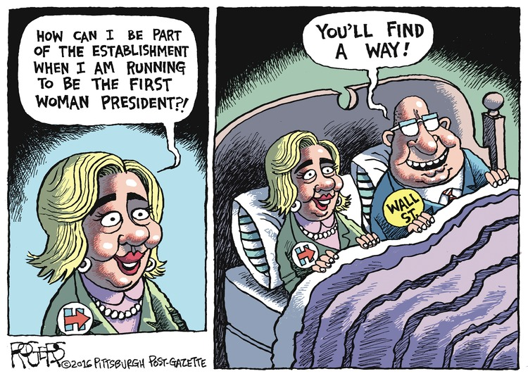 Rob Rogers Comic Strip for February 07, 2016