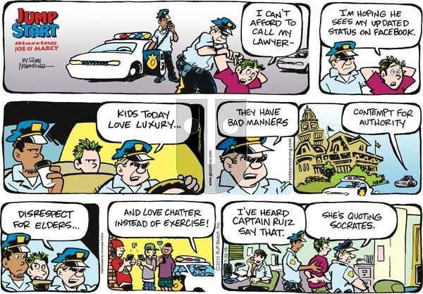 JumpStart on Sunday July 12, 2015 Comic Strip