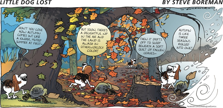 Little Dog Lost for Sep 22, 2013 Comic Strip