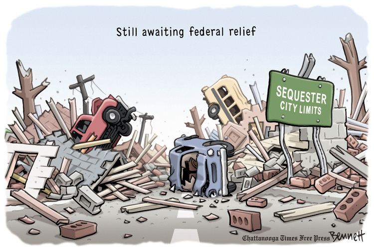 Clay Bennett for May 22, 2013 Comic Strip