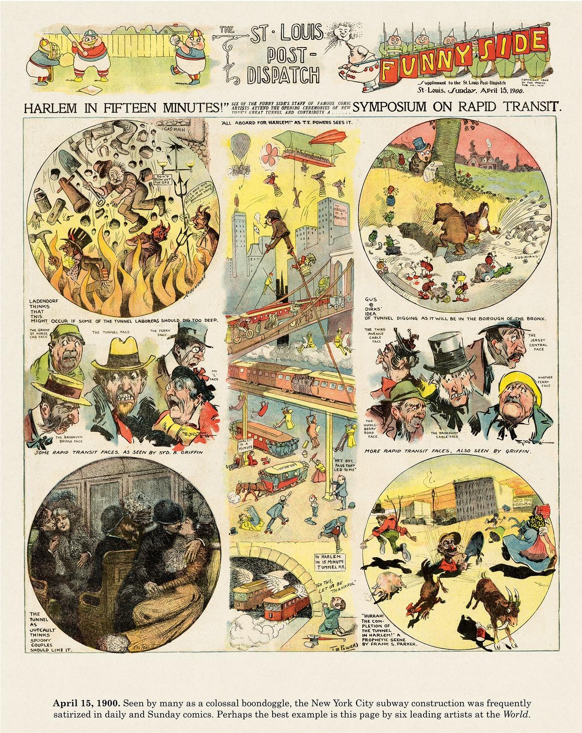 Origins of the Sunday Comics Comic Strip for October 06, 2013