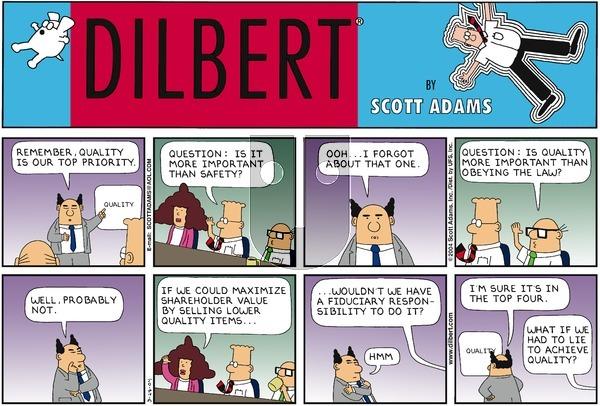 Dilbert - Sunday March 28, 2004 Comic Strip