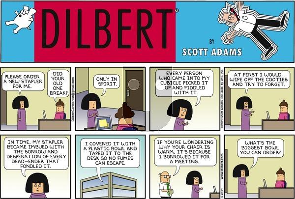 Dilbert on Sunday December 20, 2009 Comic Strip
