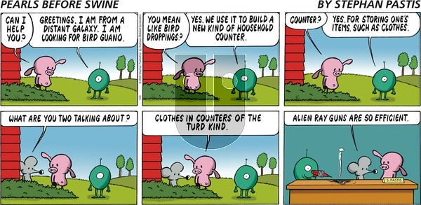Pearls Before Swine on Sunday January 26, 2020 Comic Strip