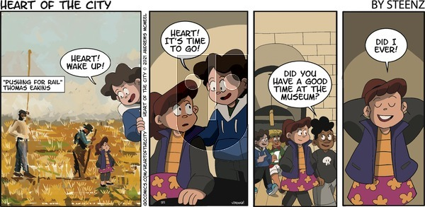 Heart of the City - Sunday May 2, 2021 Comic Strip