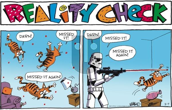 Reality Check on Sunday February 7, 2021 Comic Strip