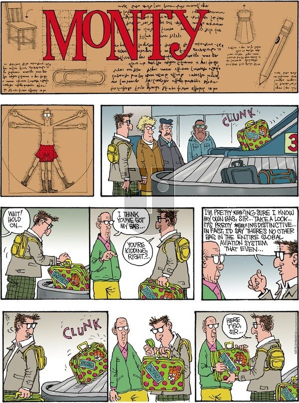 Monty on Sunday November 17, 2019 Comic Strip