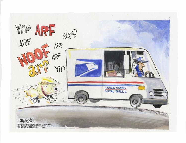 John Deering Comic Strip for August 05, 2020
