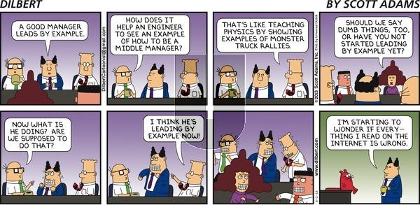 Dilbert - Sunday June 2, 2013 Comic Strip