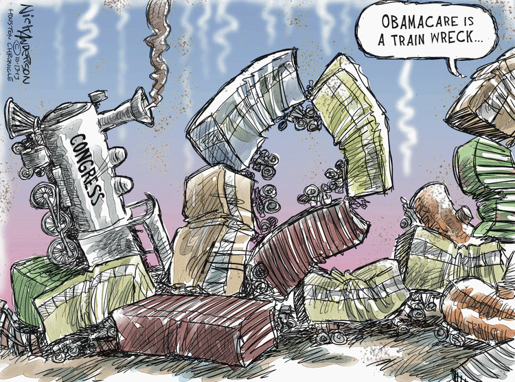 Nick Anderson for Oct 13, 2013 Comic Strip
