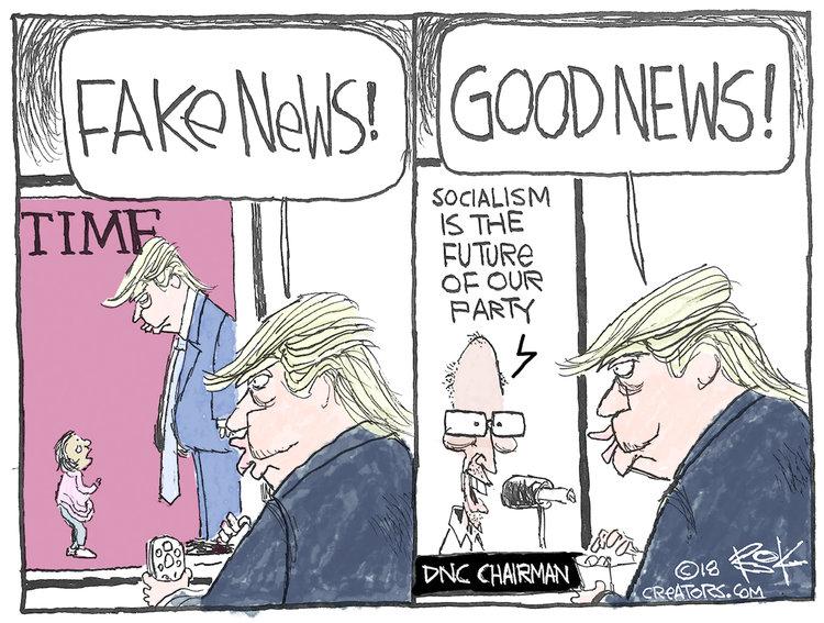 Chip Bok for Jul 9, 2018 Comic Strip