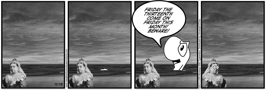 New Adventures of Queen Victoria Comic Strip for November 13, 2020