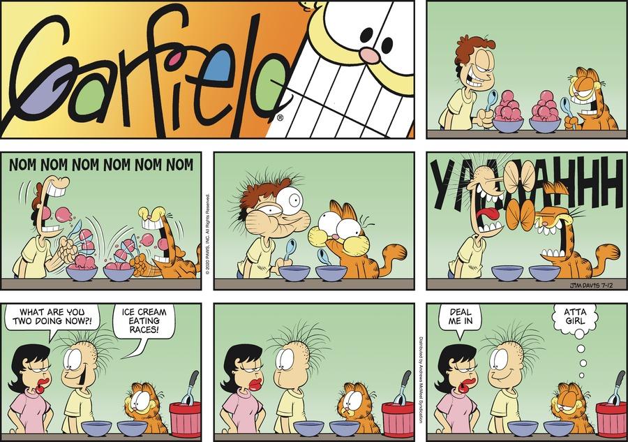Garfield Comic Strip for July 12, 2020