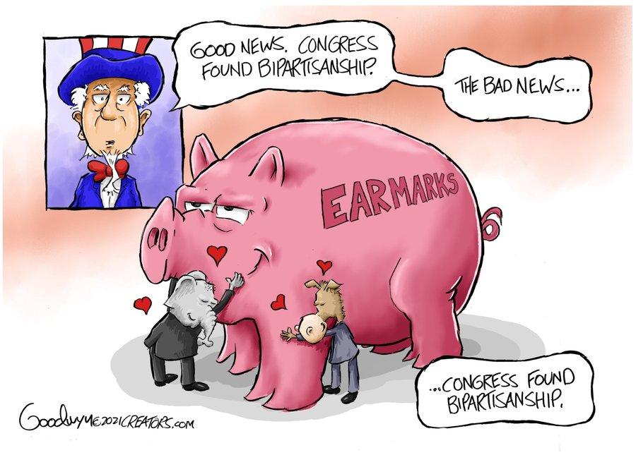 Al Goodwyn Editorial Cartoons Comic Strip for April 14, 2021
