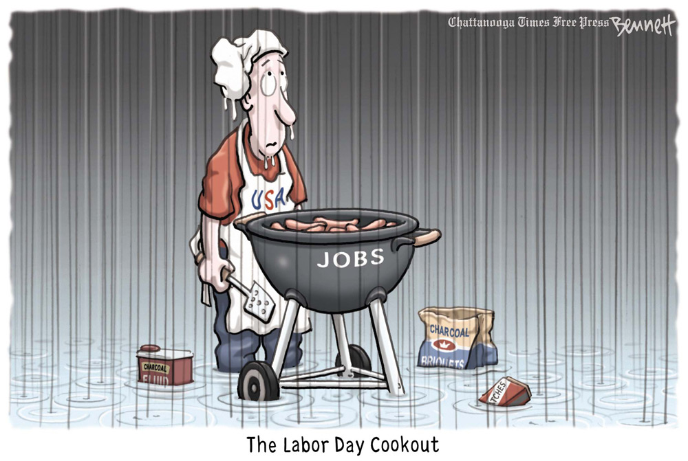 Clay Bennett Comic Strip for September 02, 2011