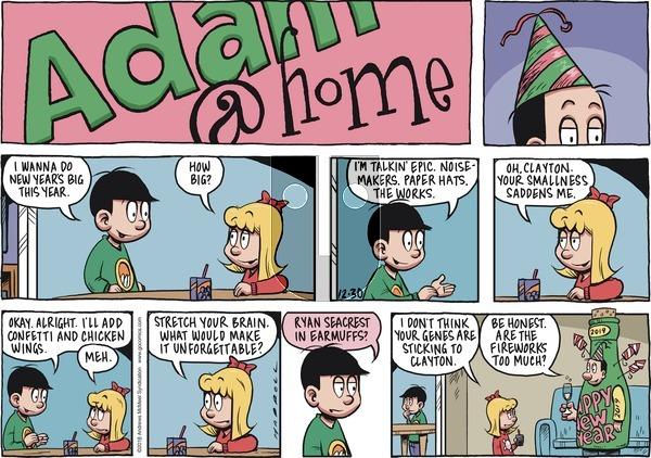 Adam@Home on Sunday December 30, 2018 Comic Strip