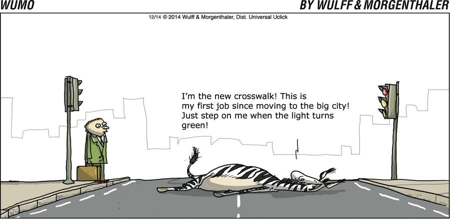 WuMo for Dec 14, 2014 Comic Strip