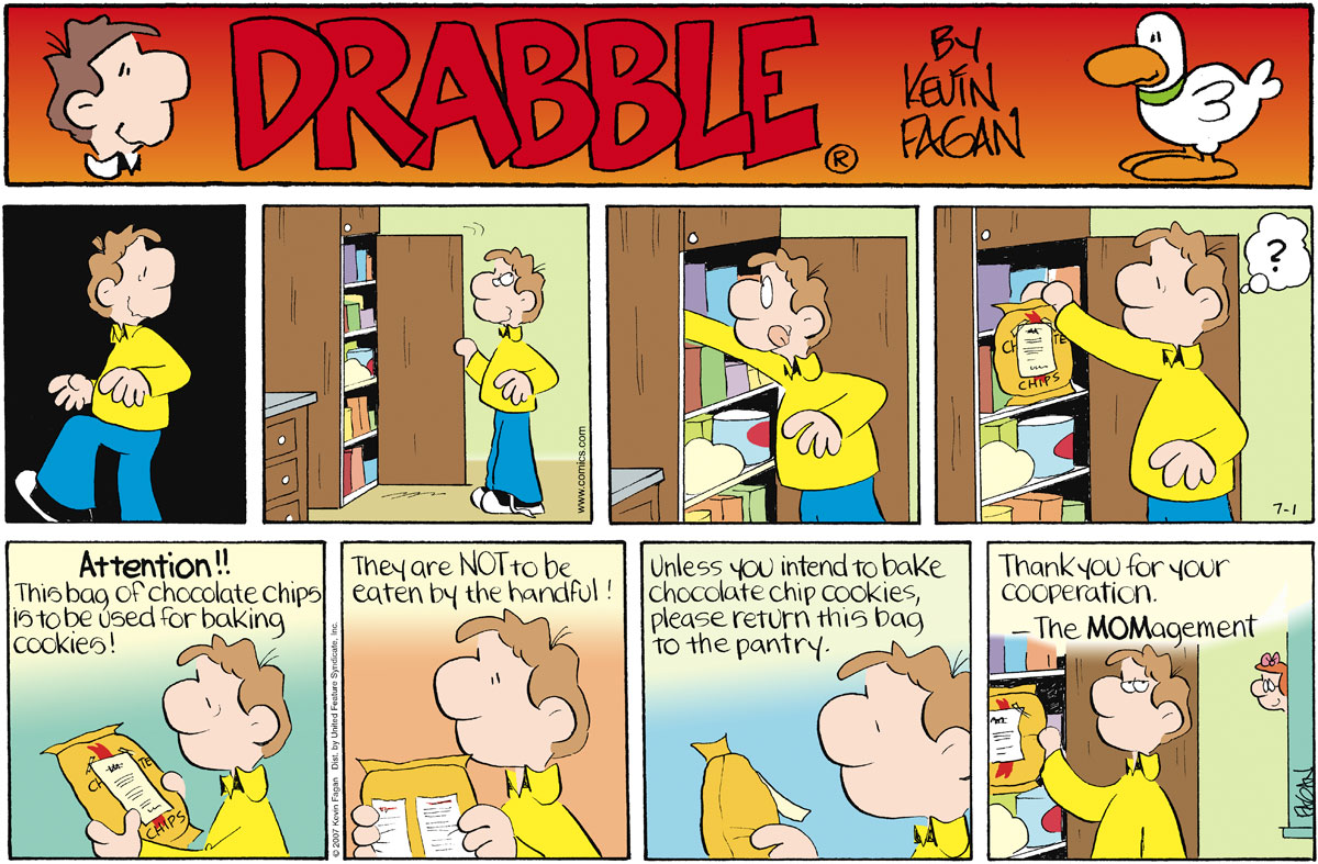 Drabble Comic Strip for July 01, 2007