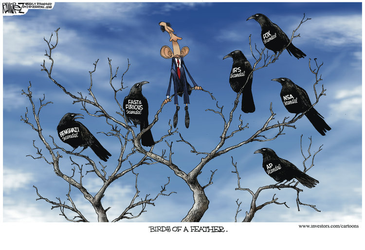Michael Ramirez for Jun 18, 2013 Comic Strip