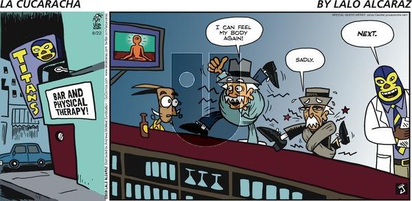 La Cucaracha on Sunday August 22, 2021 Comic Strip
