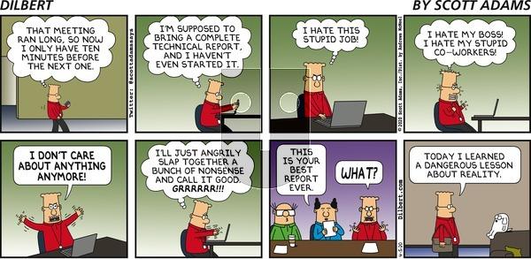 Dilbert - Sunday April 5, 2020 Comic Strip