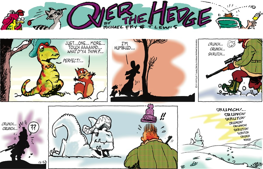Over the Hedge Comic Strip for December 22, 2019