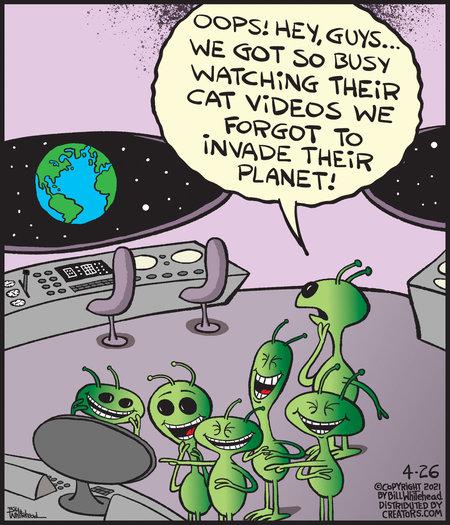 Free Range Comic Strip for April 26, 2021