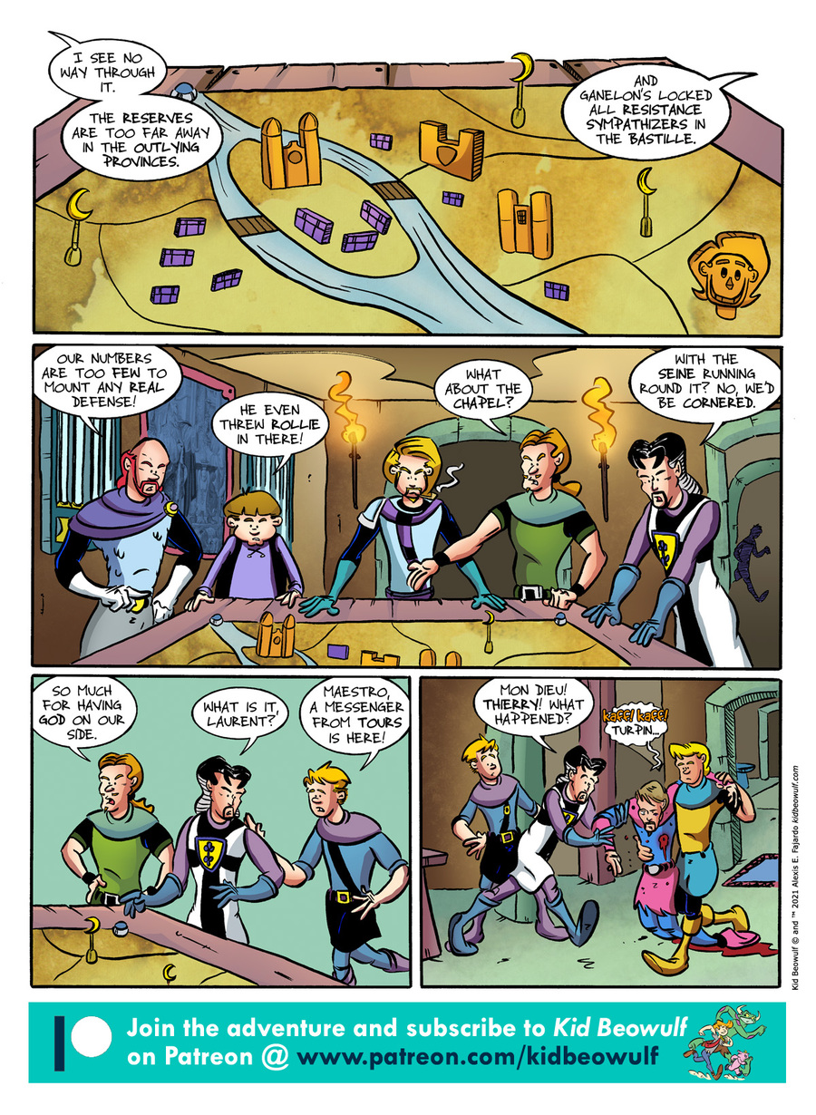 Kid Beowulf Comic Strip for July 26, 2021