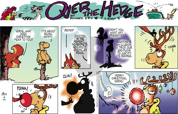 Over the Hedge on Sunday December 20, 2015 Comic Strip